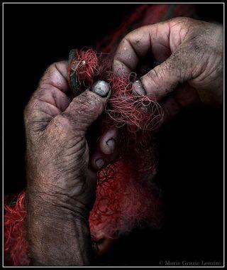 Fisherman hands 3
